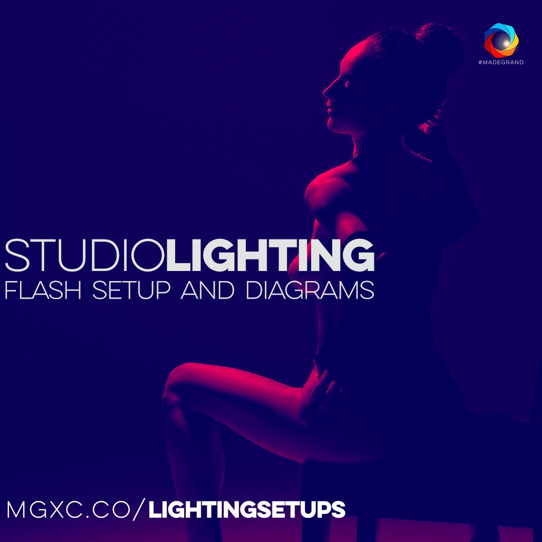 Studio Lighting Flash Setups, Lighting Recipes, and Lighting Diagrams
