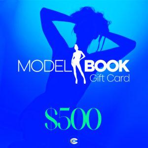 MODEL BOOK GIFT CARD $500