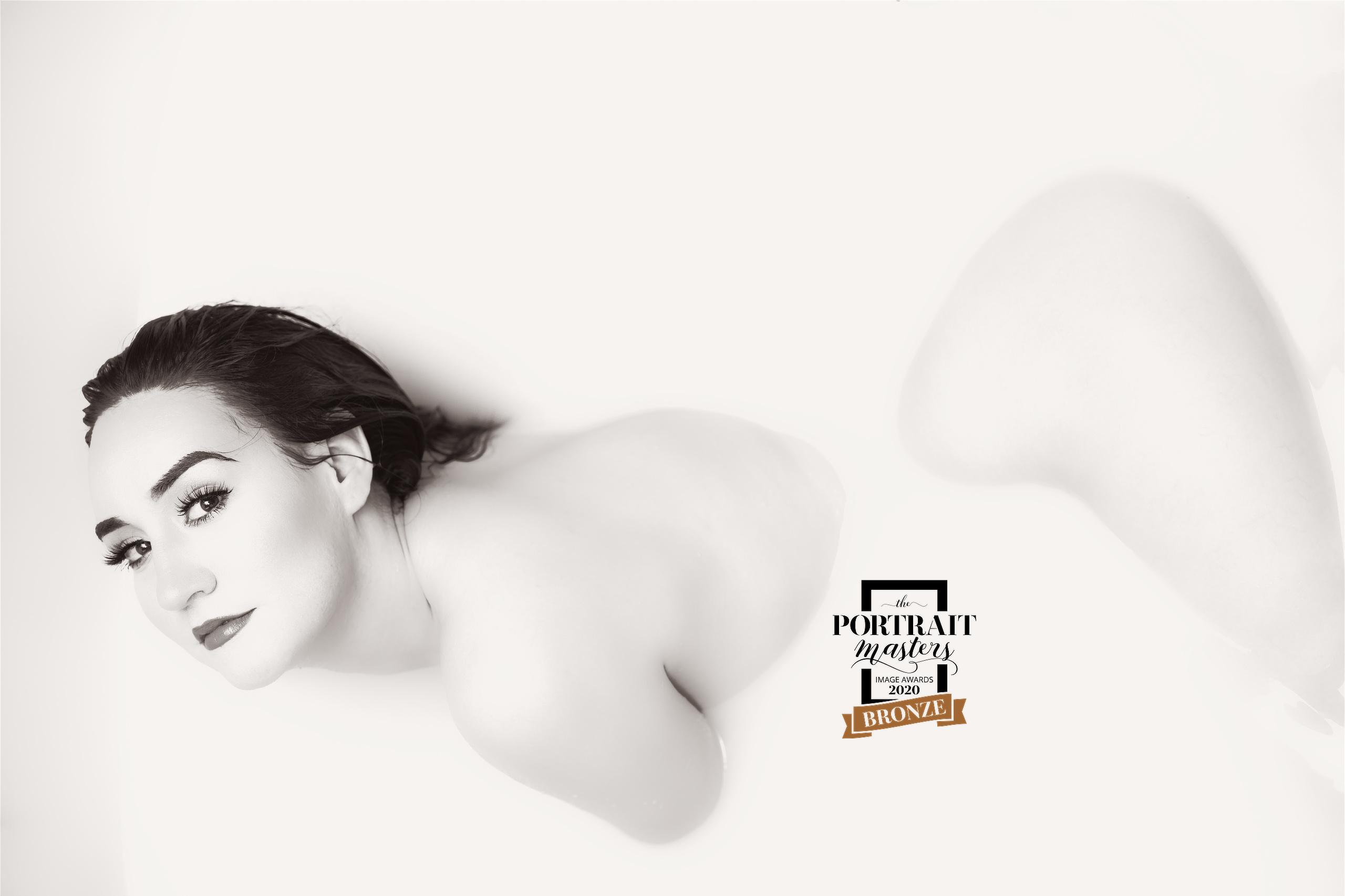 Celebrate Her Wonder With Sensual Milk Bath Photography