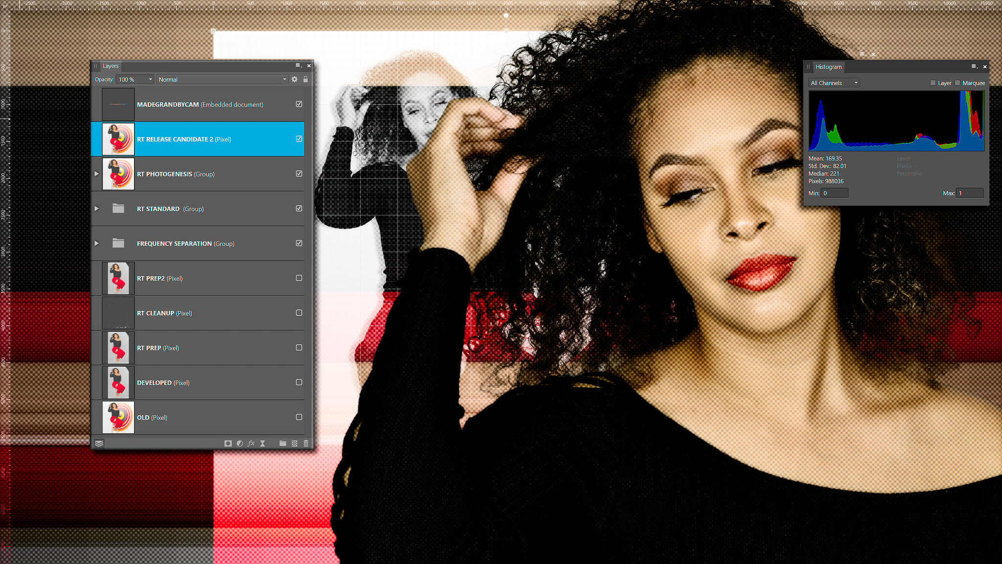 Inside the Professional Portrait Retouching Workflow